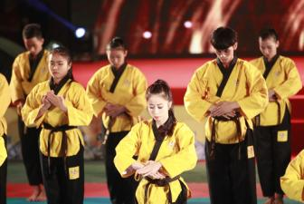 Le ky niem 20 nam thanh lap Lien doan <b style='background-color:Yellow'>Taekwondo Viet Nam </b>day cam xuc