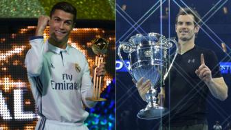 <b style='background-color:Yellow'>Cristiano Ronaldo</b> nhan them 2 giai thuong ca nhan cao quy
