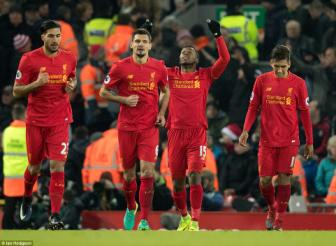 <b style='background-color:Yellow'>Liverpool</b> 4-1 Stoke: Anfield mo hoi don Man xanh