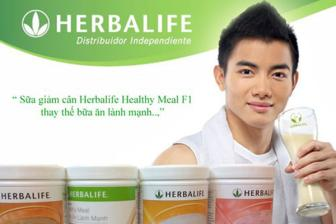 Sua <b style='background-color:Yellow'>giam can</b> Herbalife Healthy Meal F1
