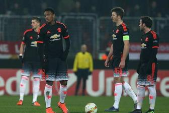 Louis van Gaal's side suffer Europa League embarrassment