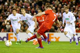 Video luot ve vong 1/16 Europa League: Liverpool 1-0 Augsburg