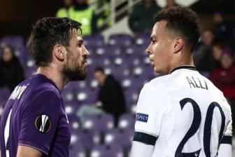 Video <b style='background-color:Yellow'>luot ve vong 1/16</b> Europa League: Tottenham 3-0 Fiorentina