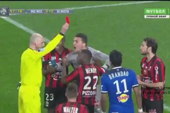 Video vong 28 Ligue 1: <b style='background-color:Yellow'>Nice</b> 0-2 SC Bastia
