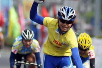 That wins first stage of Binh Duong cycling event