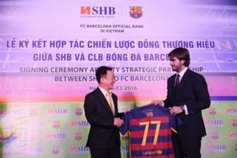 SHB, Barcelona FC ink cooperation agreement