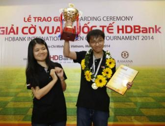 Dai kien tuong quoc te <b style='background-color:Yellow'>Pham Le Thao Nguyen</b>: Chong la dong luc giup toi thanh cong