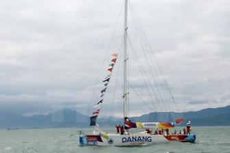 Da Nang-Vietnam team comes 8th at Clipper Race's 8th leg