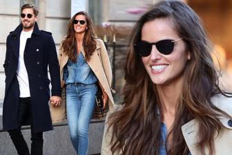 <b style='background-color:Yellow'>Izabel Goulart</b> 'lot luoi' thu thanh PSG