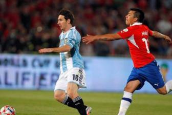 <b style='background-color:Yellow'>Chile</b> vs Argentina, 06h30 ngay 25/03: Dung de diem roi!