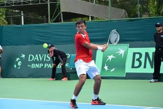 Vietnam into 2nd round of Davis Cup