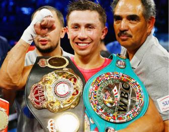 Golovkin ha <b style='background-color:Yellow'>knock-out</b> Wade o hiep 2
