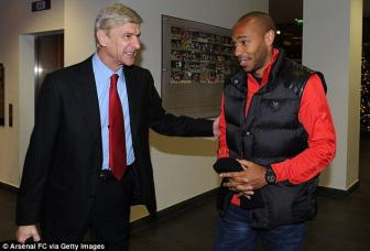 Thierry <b style='background-color:Yellow'>Henry</b> chinh thuc khoi nghiep HLV o Arsenal