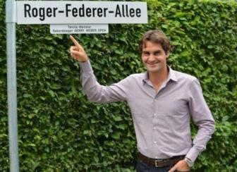 <b style='background-color:Yellow'>Roger Federer</b> duoc dat ten duong o Thuy Si