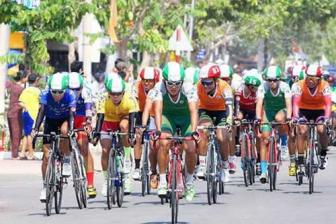 Khang wins fourth stage of cycling tourney