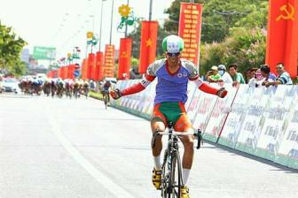 Khang wins stage, Tung leads cycling cup