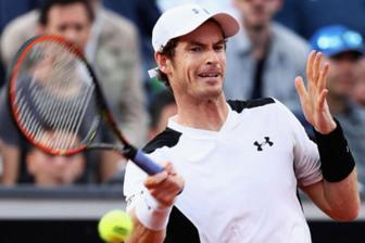 Video ban ket Rome Masters 2016: Andy Murray vs Lucas Pouille