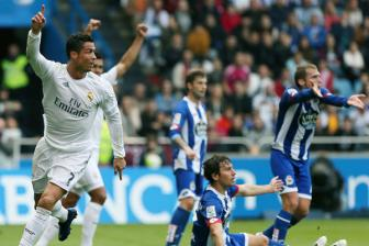 Video vong 38 La Liga: <b style='background-color:Yellow'>Deportivo</b> 0-2 Real Madrid