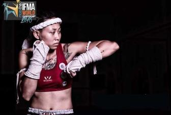 Bui Yen Ly enters semis of Muaythai tournament