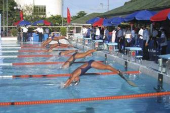 HCM City lead in finswimming comp