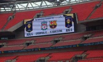 <b style='background-color:Yellow'>International Champions Cup</b> 2016: Leicester va Liverpool dung Barcelona