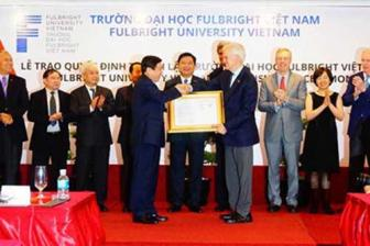 Fulbright University Vietnam makes its debut