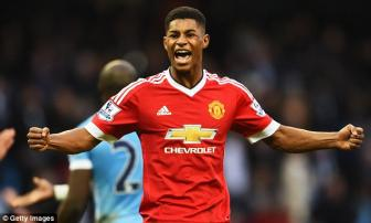 <b style='background-color:Yellow'>Marcus Rashford</b> lai gap may tren hanh trinh gianh suat du EURO 2016