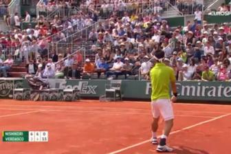 Video vong 3 Roland Garros 2016: Nishikori vs Verdasco