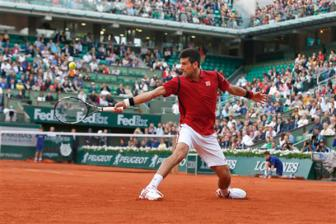 Video vong 3 Roland Garros 2016: Novak Djokovic vs Aljaz Bedene