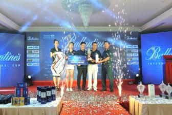 Golfer <b style='background-color:Yellow'>Hoang Ngoc</b> Quy gianh ve du VCK Ballantine's International Cup 2016