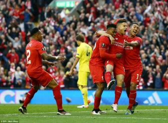 Dai thang <b style='background-color:Yellow'>Villarreal</b> o Anfield, Liverpool vao chung ket Europa League
