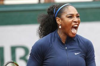 Video don nu vong 4 Roland Garros 2016: Serena Williams vs Elina Svitolina