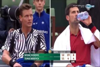 Video tu ket Roland Garros 2016: Djokovic vs Berdych