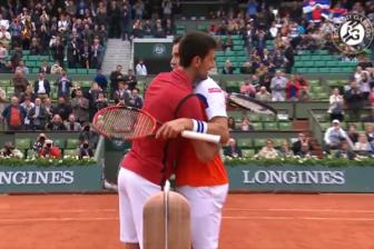 Video vong 4 Roland Garros 2016: Djokovic vs Bautista