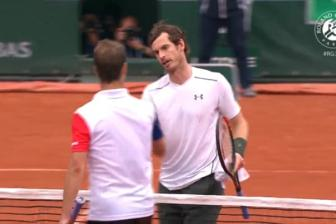 Video vong 4 Roland Garros 2016: Gasquet vs Murray