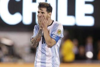 Video Chung ket <b style='background-color:Yellow'>Copa America 2016</b>: Argentina 0-0 Chile
