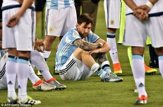 Maradona muon Messi vo dich World Cup 2018