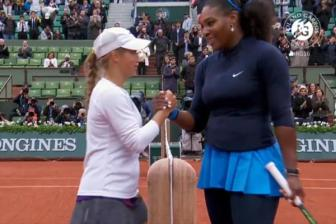 Video tu ket don nu Roland Garros 2016 : Serena Williams vs Yulia Putintseva