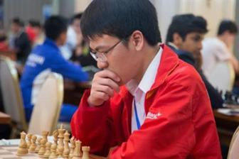 Liem near winning Asian chess championship