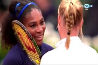 Video ban ket don nu Roland Garros 2016: Serena Williams vs Kiki Bertens
