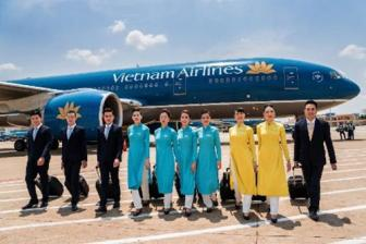 <b style='background-color:Yellow'>Vietnam Airlines</b> thu 6.000 ti dong moi thang