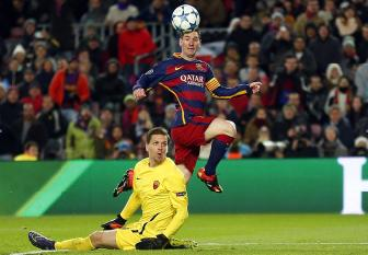 <b style='background-color:Yellow'>Lionel Messi</b> doat giai ban thang dep nhat mua 2015/16