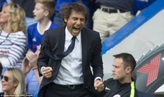 Chelsea 3-0 Burnley: Antonio Conte keo <b style='background-color:Yellow'>The Blues</b> len dinh