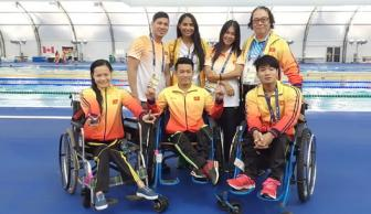 Cac tay boi Viet Nam van dang mo huy chuong o <b style='background-color:Yellow'>Paralympic 2016</b>