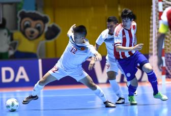 DT Viet Nam con bao nhieu co hoi vao vong 16 doi <b style='background-color:Yellow'>World Cup Futsal 2016</b>?