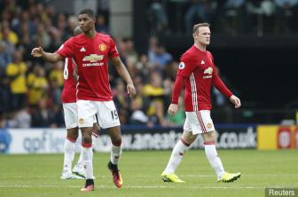 <b style='background-color:Yellow'>Marcus Rashford</b> tuyen chien voi Wayne Rooney o vi tri ho cong