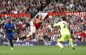 <b style='background-color:Yellow'>Ibrahimovic</b> phung phi nhieu co hoi nhat Premier League