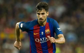 Moi choi 19 phut o La Liga cho Barca, <b style='background-color:Yellow'>Andre Gomes</b> lai dinh chan thuong