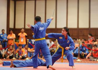 <b style='background-color:Yellow'>Vovinam</b> phat trien manh me tai Dong Nam A