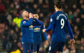 <b style='background-color:Yellow'>Stoke City</b> 1-1 Man United: Wayne Rooney, nguoi hung di vao lich su